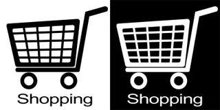 Shopping cart illustration Stock Image