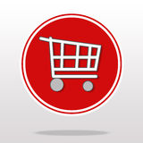 Shopping Cart - Illustration. Stock Image