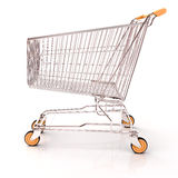 Shopping cart isolated Stock Image