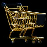 Shopping Cart, Isolated, Exemption Royalty Free Stock Photos