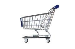 Shopping cart. Isolated on white background Stock Photo