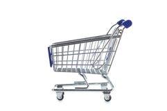 Shopping cart. Isolated on white background Stock Photography