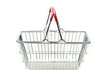 Shopping cart isolated on white background Stock Image