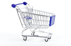Shopping cart isolated Stock Photos