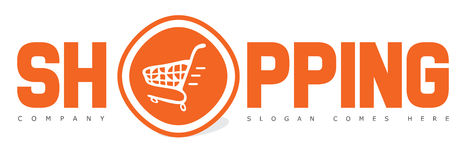 Shopping Cart Logo Online Store Stock Photos