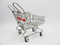 Shopping Cart models Stock Photo