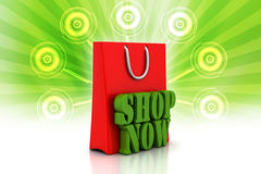 Shopping cart with offer Stock Photos