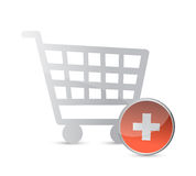 Shopping cart. online shopping concept. Stock Photography