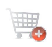 Shopping cart. online shopping concept. Stock Photography