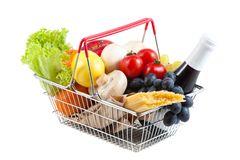 Shopping Cart with Perfect Product Stock Photos