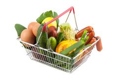 Shopping Cart with Perfect Product Royalty Free Stock Photos