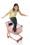 Shopping Cart Ride Stock Photography