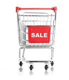 shopping cart SALE Stock Images