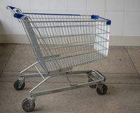 Shopping Cart , Self-service. royalty free stock image