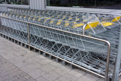 Shopping cart. shopping trolley, shopping  business Royalty Free Stock Images