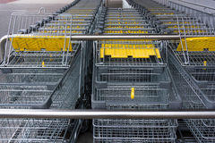 Shopping cart. shopping trolley shopping, business Royalty Free Stock Image