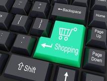 Shopping cart sign Stock Photo
