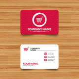 Shopping Cart sign icon. Online buying button. Stock Images
