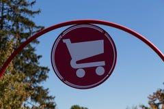 Shopping Cart Sign Royalty Free Stock Photos