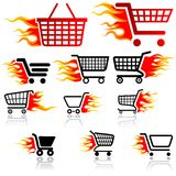 Shopping Cart Sign Royalty Free Stock Image