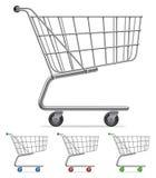 Shopping cart. royalty free illustration