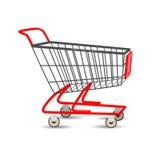 Shopping cart supermarket. Vector Illustration. Stock Image