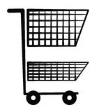 Shopping cart Symbol Stock Photography