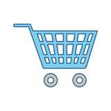 Shopping cart symbol Stock Image