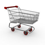 Shopping cart / trolley Stock Photography