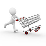 Shopping cart / trolley Stock Photos