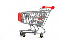 Shopping cart or trolley Royalty Free Stock Image