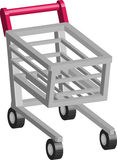 Shopping cart trolley Royalty Free Stock Photography