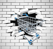 Shopping Cart Trolley Concept Royalty Free Stock Images