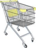 Shopping cart vector Royalty Free Stock Photography