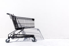 Shopping Cart. On white background Royalty Free Stock Images