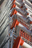 Shopping carts Royalty Free Stock Image