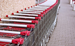 Free Shopping Carts Stock Photography - 13558442