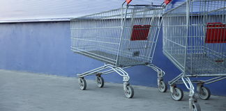 Shopping carts Stock Images