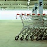 Shopping carts Stock Image