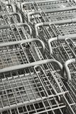 Shopping carts. Royalty Free Stock Images