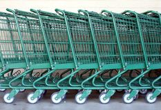 Free Shopping Carts Royalty Free Stock Photos - 28650848