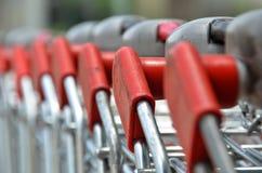 Shopping carts Stock Photos