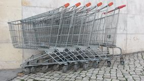Free Shopping Carts Stock Images - 48168044
