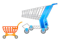 Free Shopping Carts Royalty Free Stock Photography - 5081267
