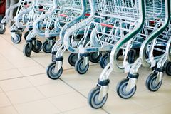 Free Shopping Carts Stock Photography - 5303472