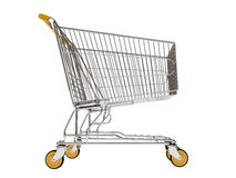 Shopping carts isolated Royalty Free Stock Image