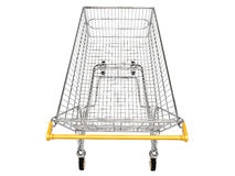 Shopping carts isolated Royalty Free Stock Photo