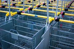Shopping carts Royalty Free Stock Image