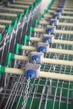 Shopping carts. Royalty Free Stock Photo