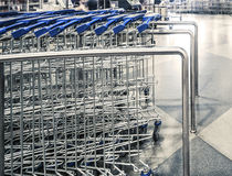 Shopping-carts Stock Images
